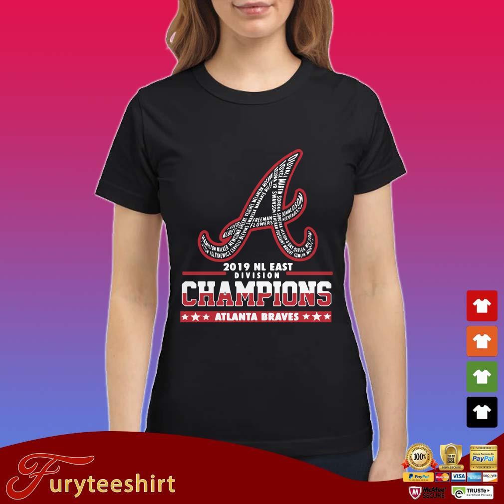 A Atlanta Braves 2019 NL East Division Champion shirt