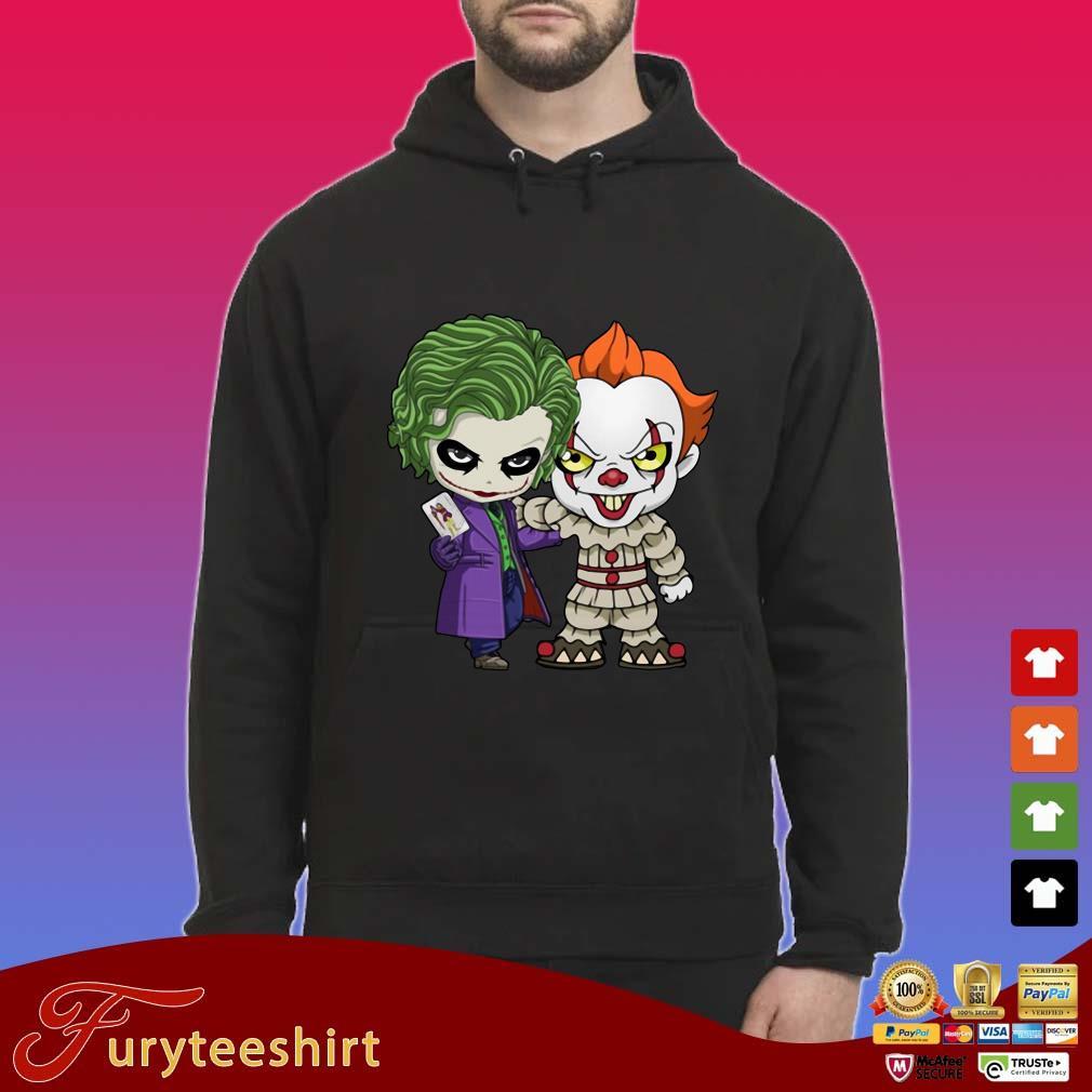 Baby Joker And Pennywise Halloween Shirt