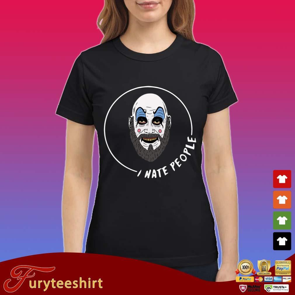 Captain Spaulding I Hate People Shirt