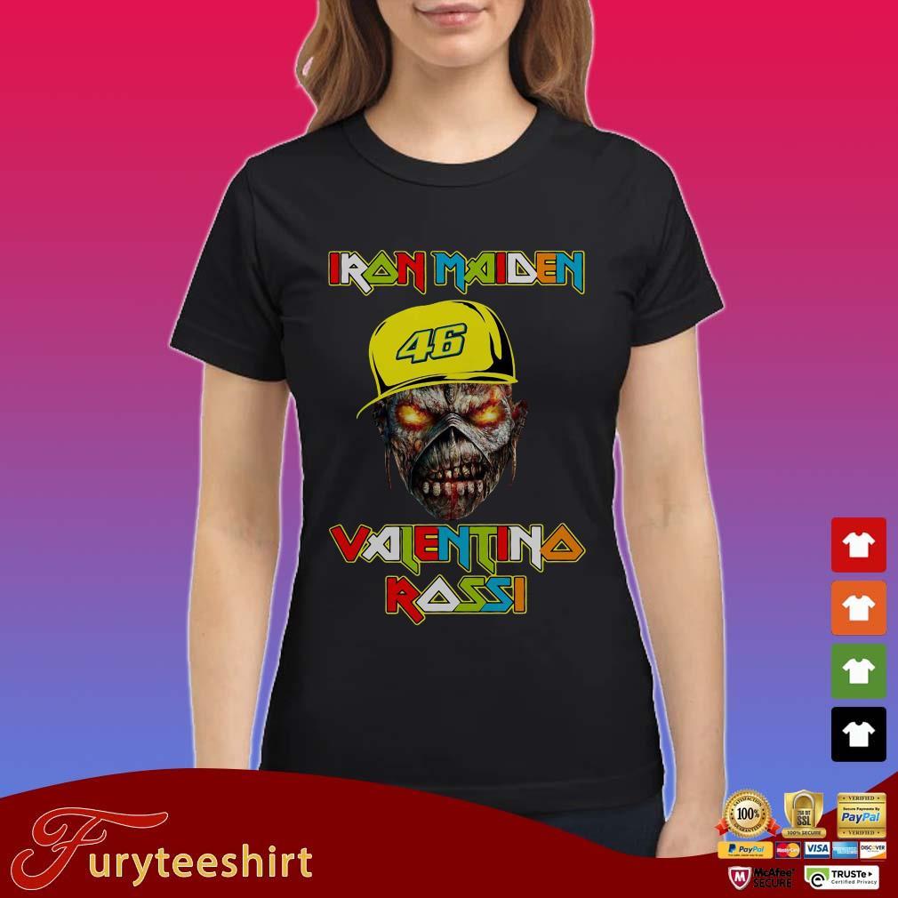 Iron Maiden Valentino Rossi Shirt