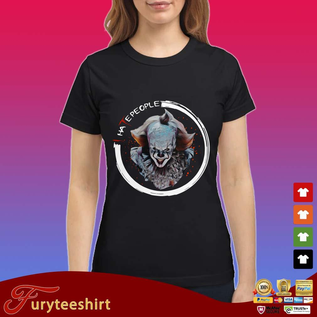 It Pennywise I Hate People Shirt