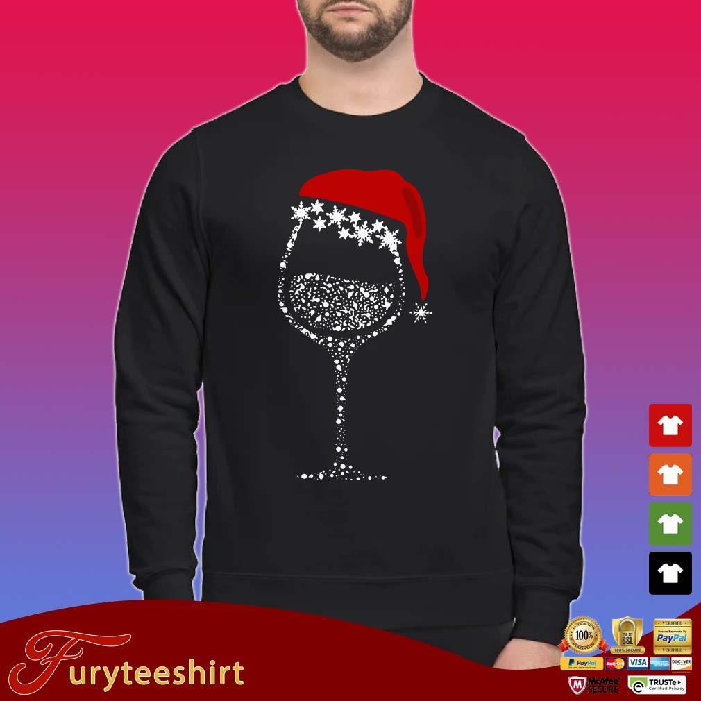 Wine Christmas Sweater.Snow Wine Christmas Shirt