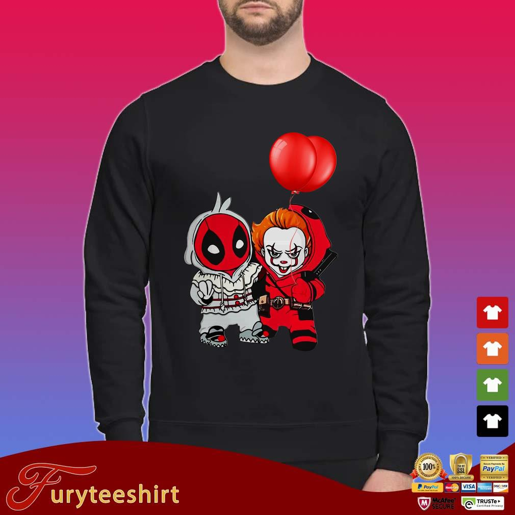 Baby Deadpool and Pennywise friends Shirt