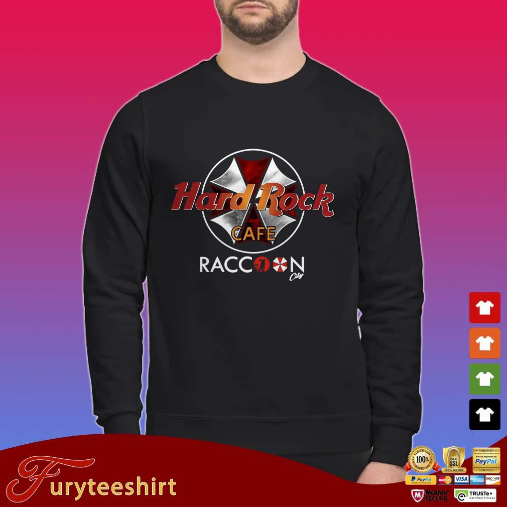 Hard Rock Cafe Raccoon City shirt