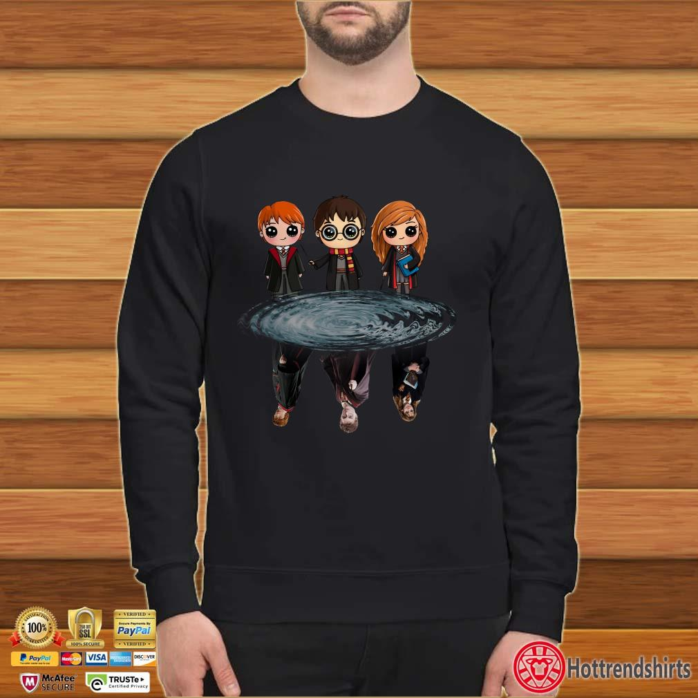 Harry Potter Ron Weasley And Hermione Reflection Shirt