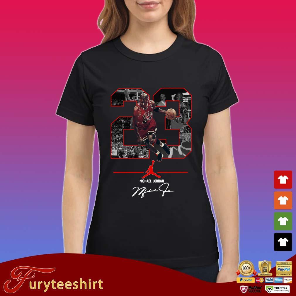 23 Michael Jordan Air Jordan Signature Shirt