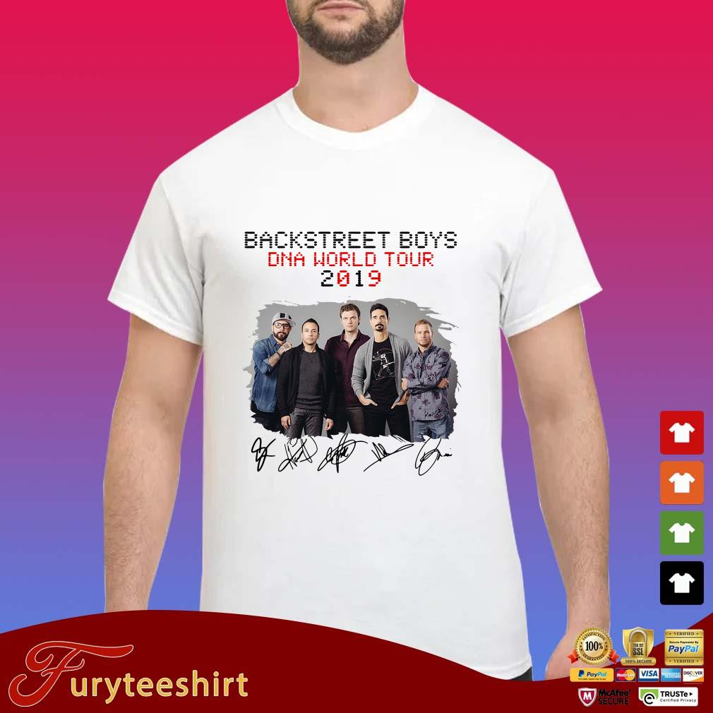 Backstreet Boys Christmas Sweater.Backstreet Boys Dna World Tour 2019 Signatures Shirt