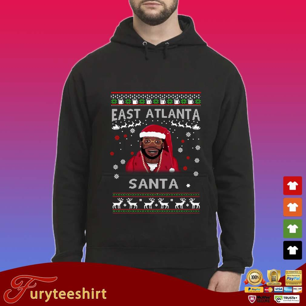 Gucci Mane Christmas.Gucci Mane East Atlanta Santa Christmas Sweatshirt