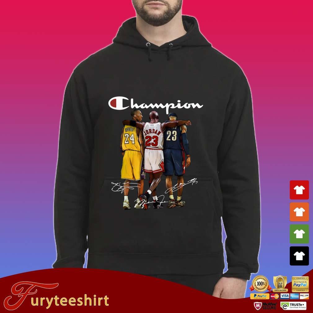 Champion Kobe Bryant Michael Jordan and LeBron James Sweater