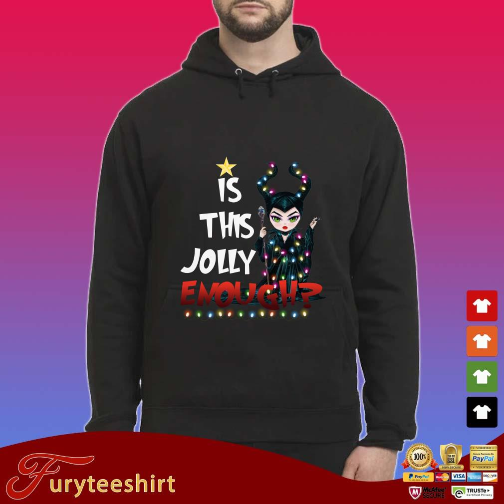 Maleficent Is This Jolly Enough Christmas Shirt