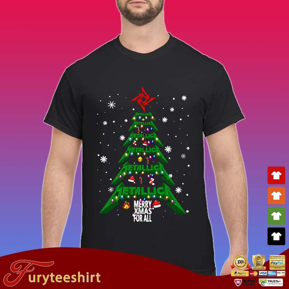 Metallica merry Xmas For All Christmas Tree Sweater