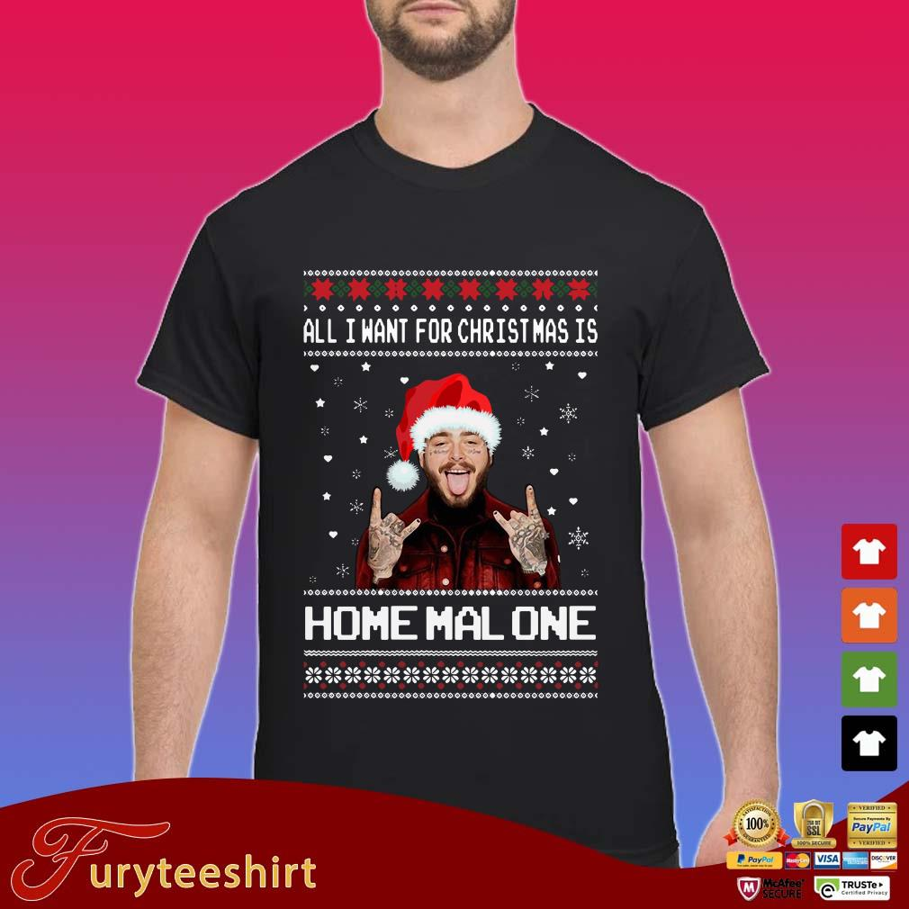 Post Malone All I want for Christmas is Malone Ugly Christmas Sweater