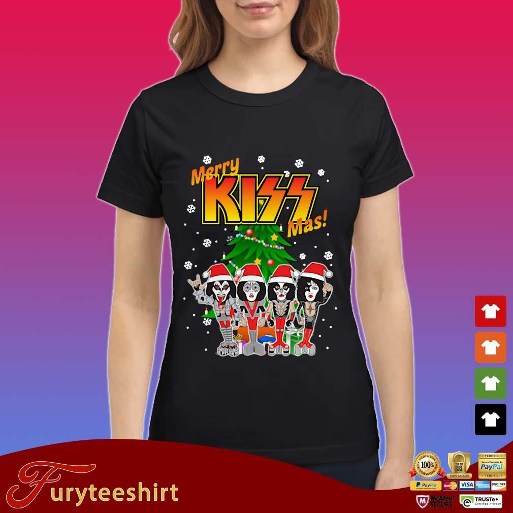 Rock And Roll Over Kiss Merry Kissmas Shirt