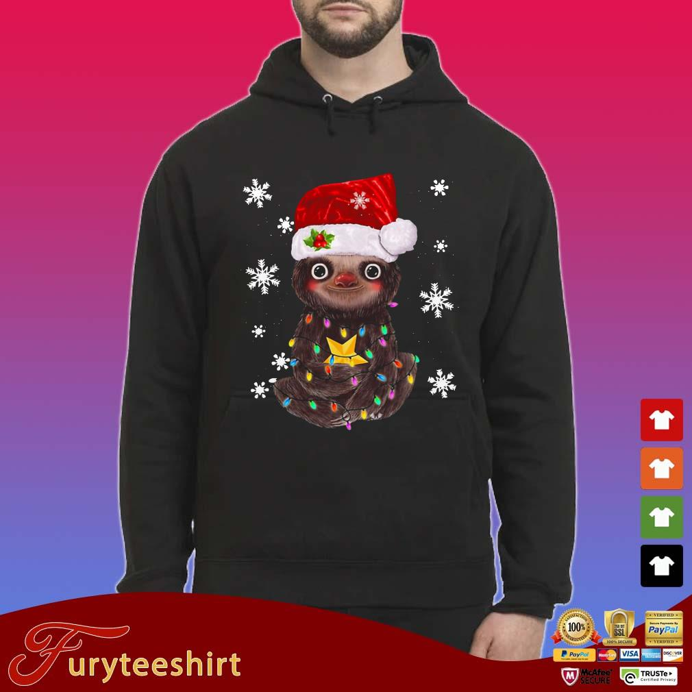 Sloth Christmas Light Shirt