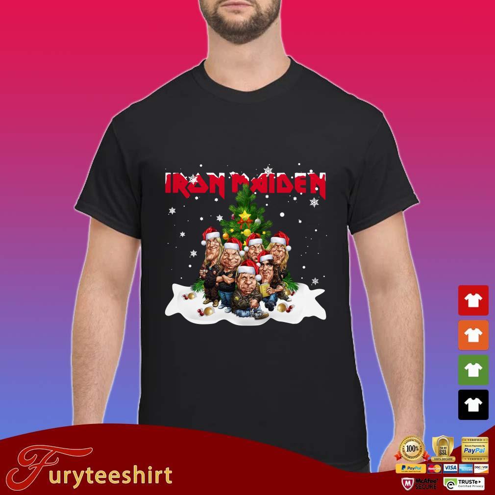 Santa Iron Maiden Chibi Christmas Tree Sweater