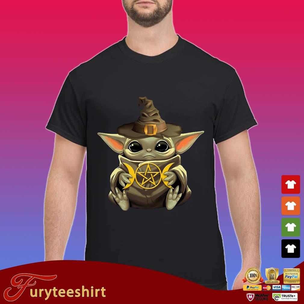 Baby Yoda Hug Star Shirt