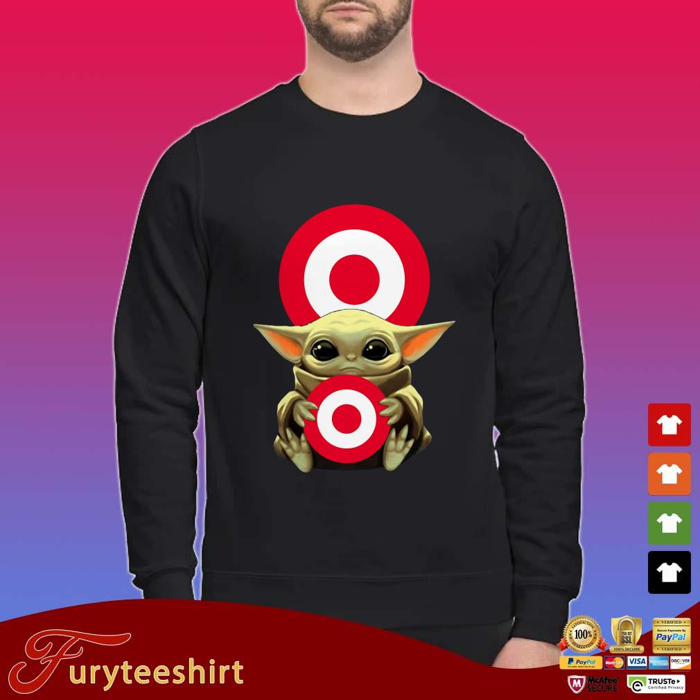 Baby Yoda Hug Target Shirt