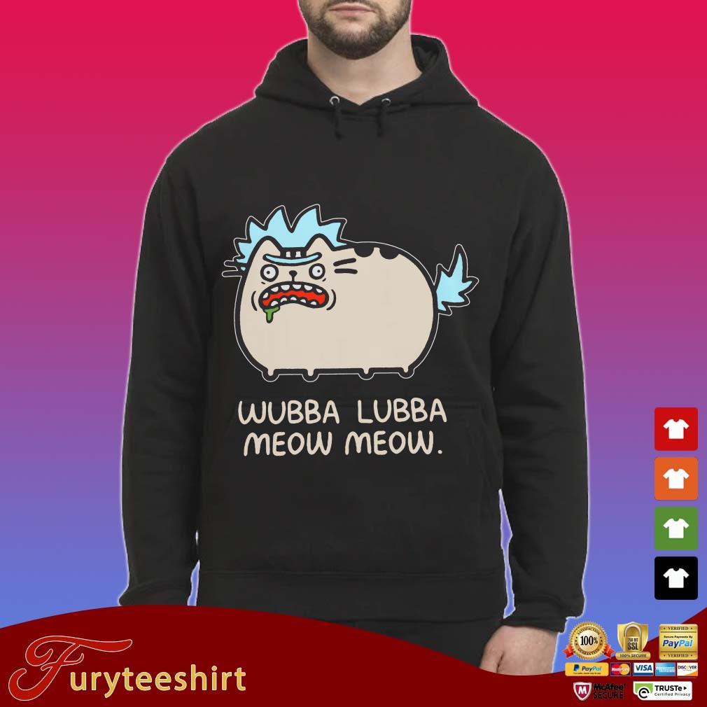 Rick Sanchez cat wubba lubba meow meow Shirt