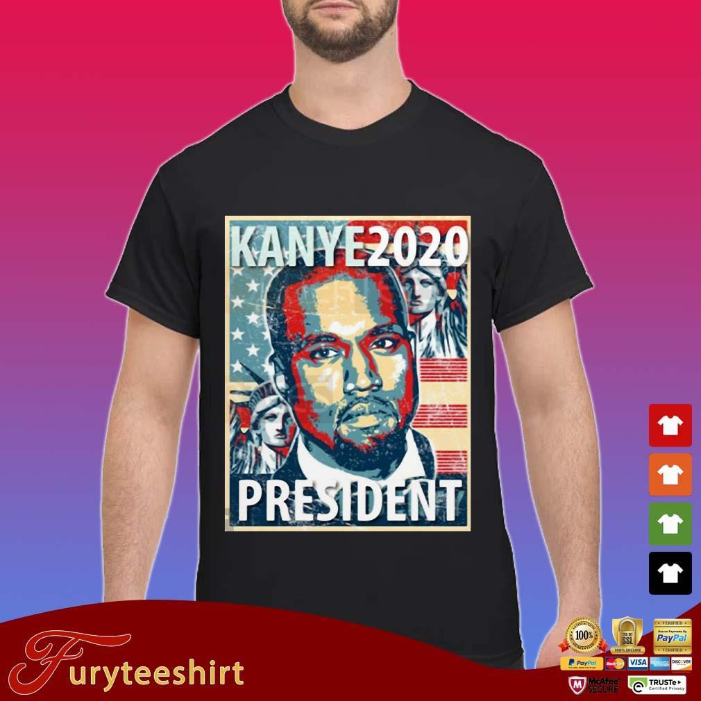 Yeezy Kanye For President 2020 Shirt