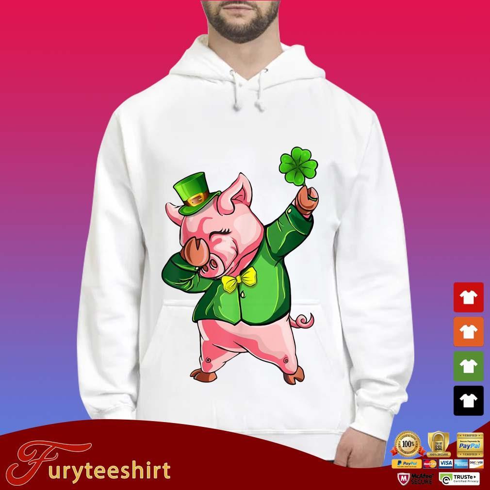 Dabbing Pig Lovers Irish Shirt St Patrick's Day Shamrock Shirt
