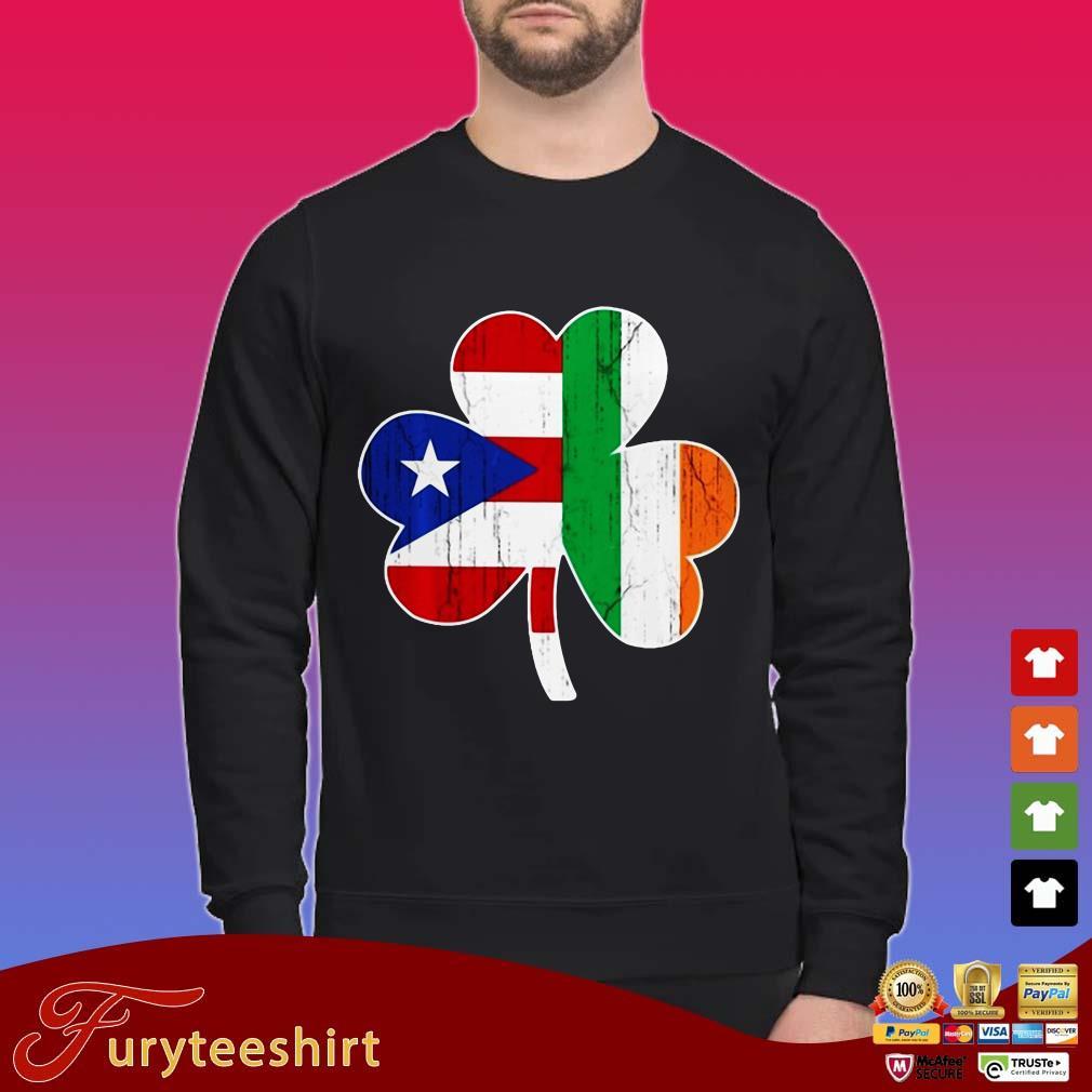 Ireland Irish Puerto Rican St Patrick Day Shirt