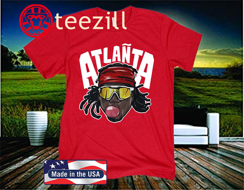 Atlañta Acuña T-Shirt, Atlanta Baseball - MLBPA Licensed
