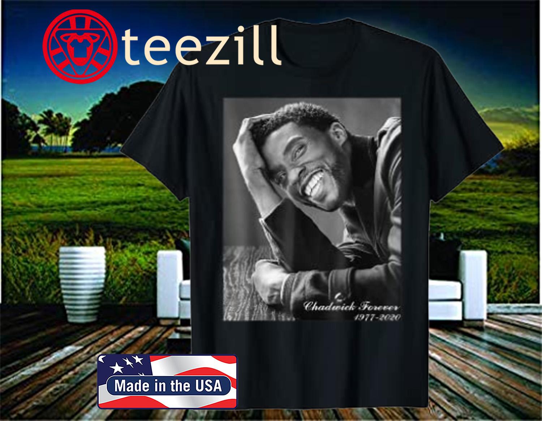 Boseman-Forever 1977-2020 Tee Shirt