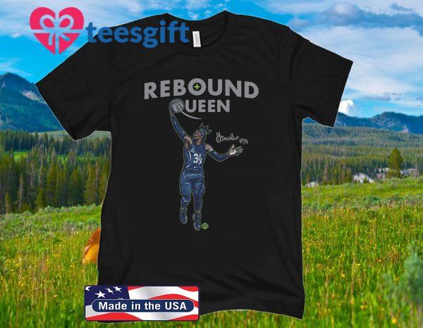 Sylvia Fowles Rebound Queen Official T-Shirt