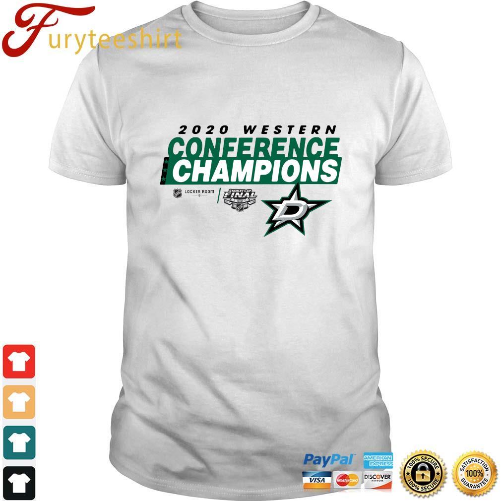 2020 Western Conference Champions Dallas Stars shirt