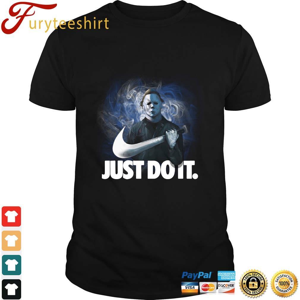 Michael Myers Nike Just Do It shirt