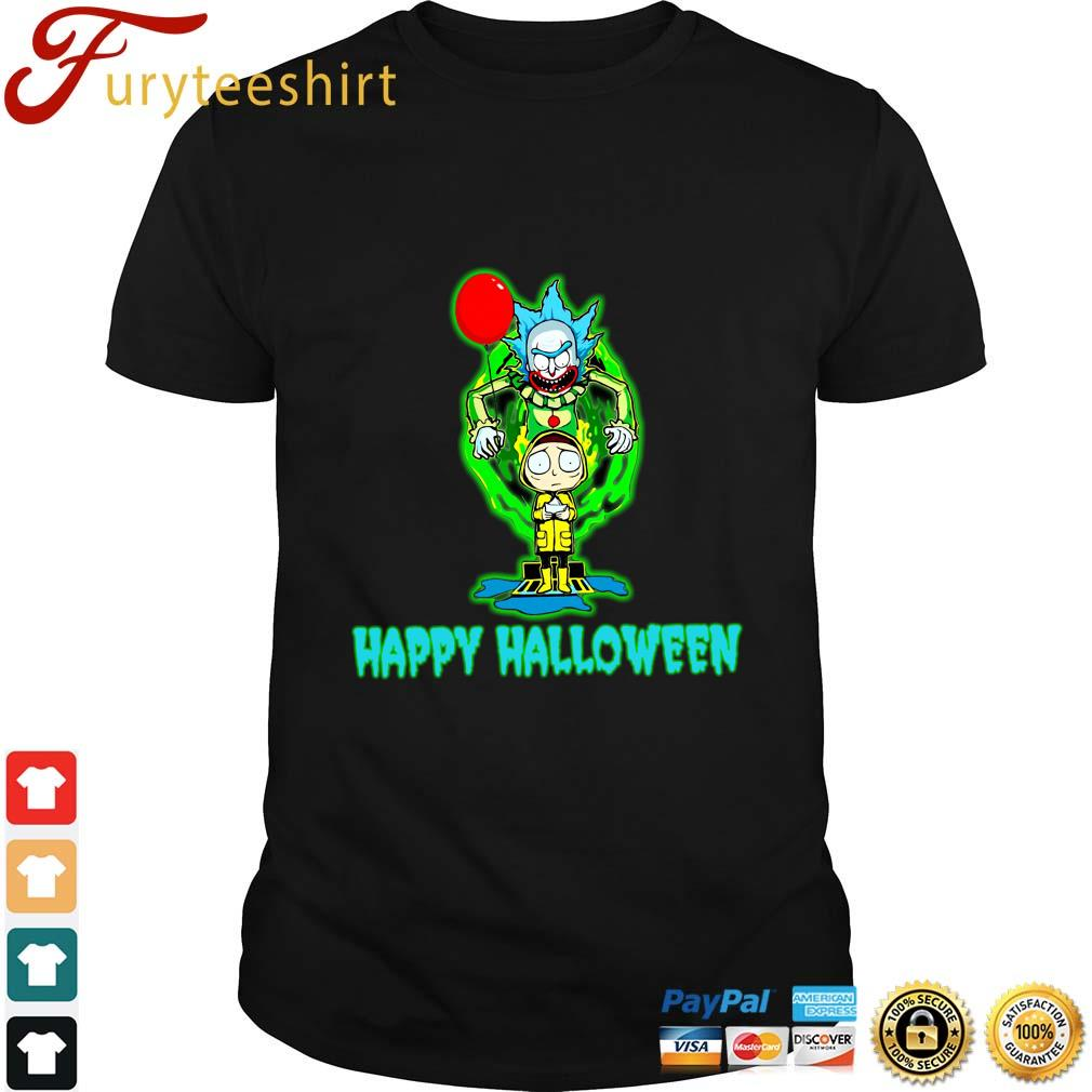 Rick and Morty Smith IT happy Halloween shirt
