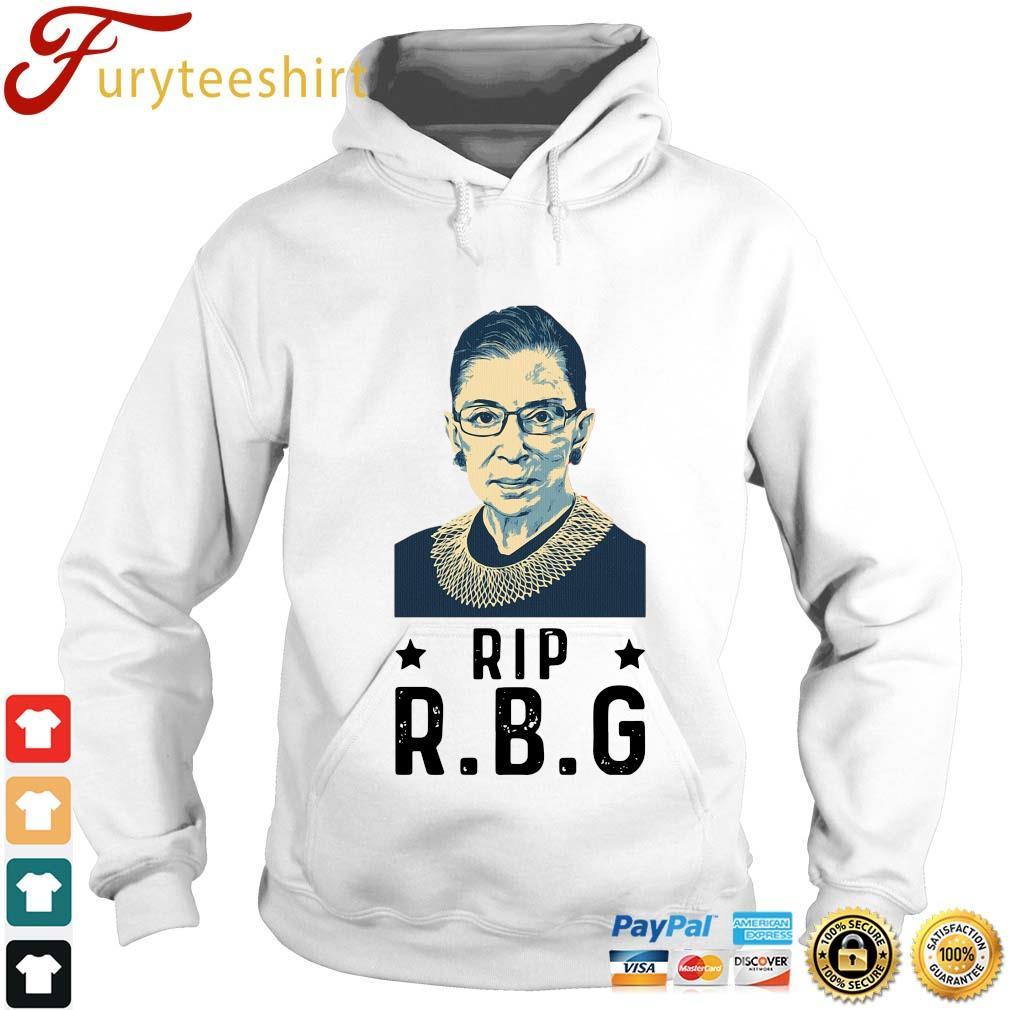 Rip Ruth Bader Ginsburg RBG s Hoodie trang