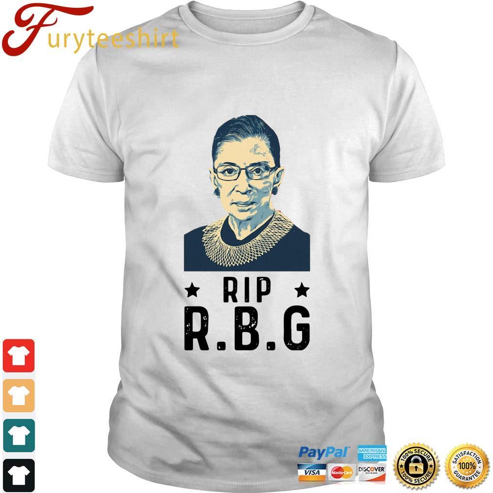 Rip Ruth Bader Ginsburg RBG shirt