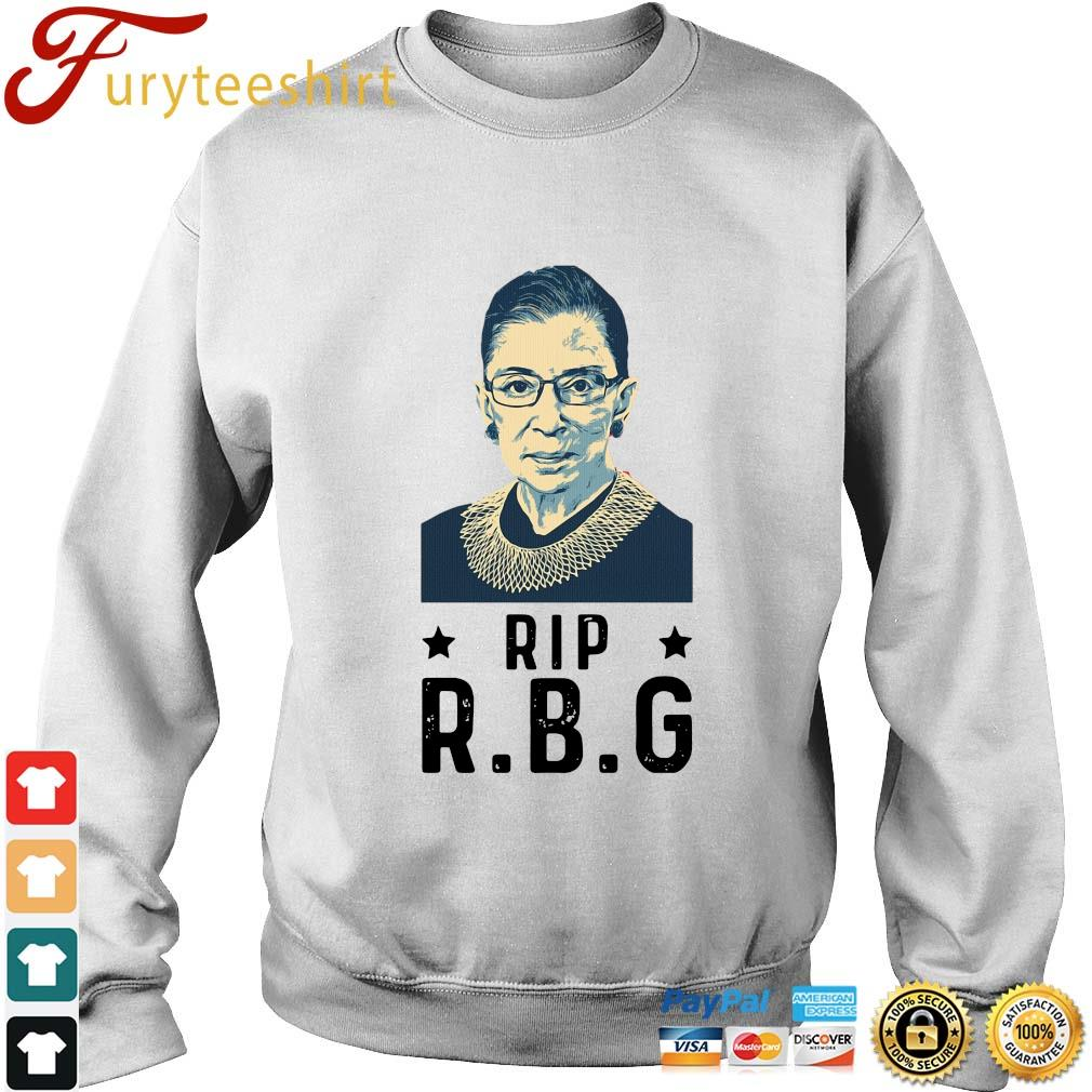 Rip Ruth Bader Ginsburg RBG s Sweater trang