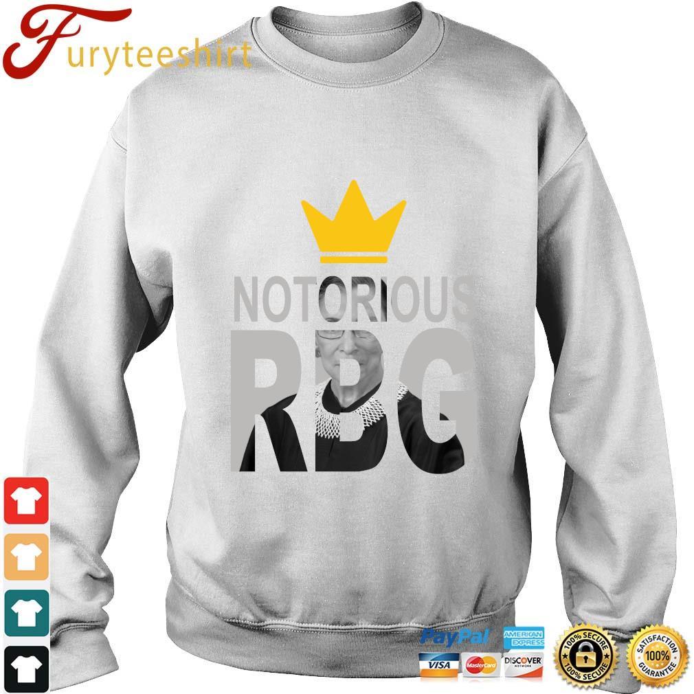 Ruth Bader Ginsburg crown notorious RBG rip s Sweater trang
