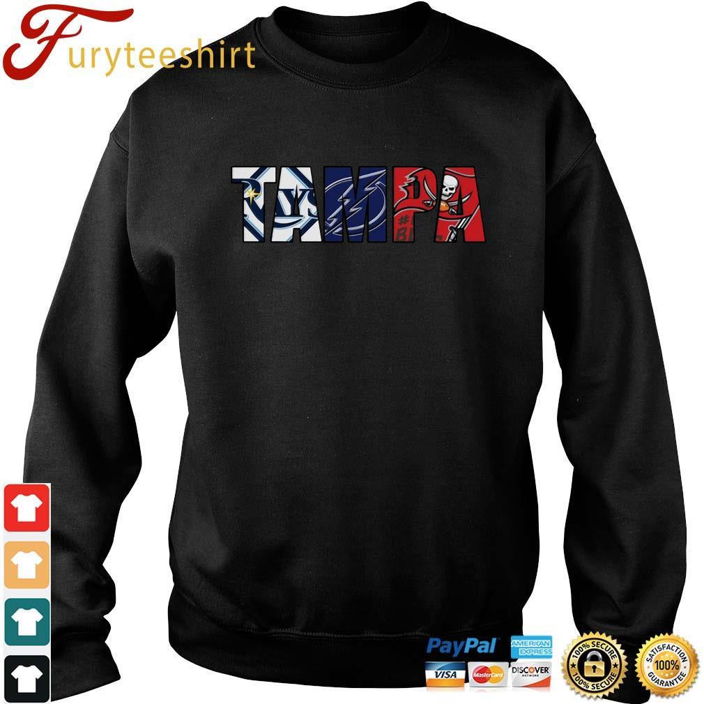 TAMPA sports team Tampa Bay Rays Tampa Bay Lightning Tampa Bay Buccaneers shirts Sweater den