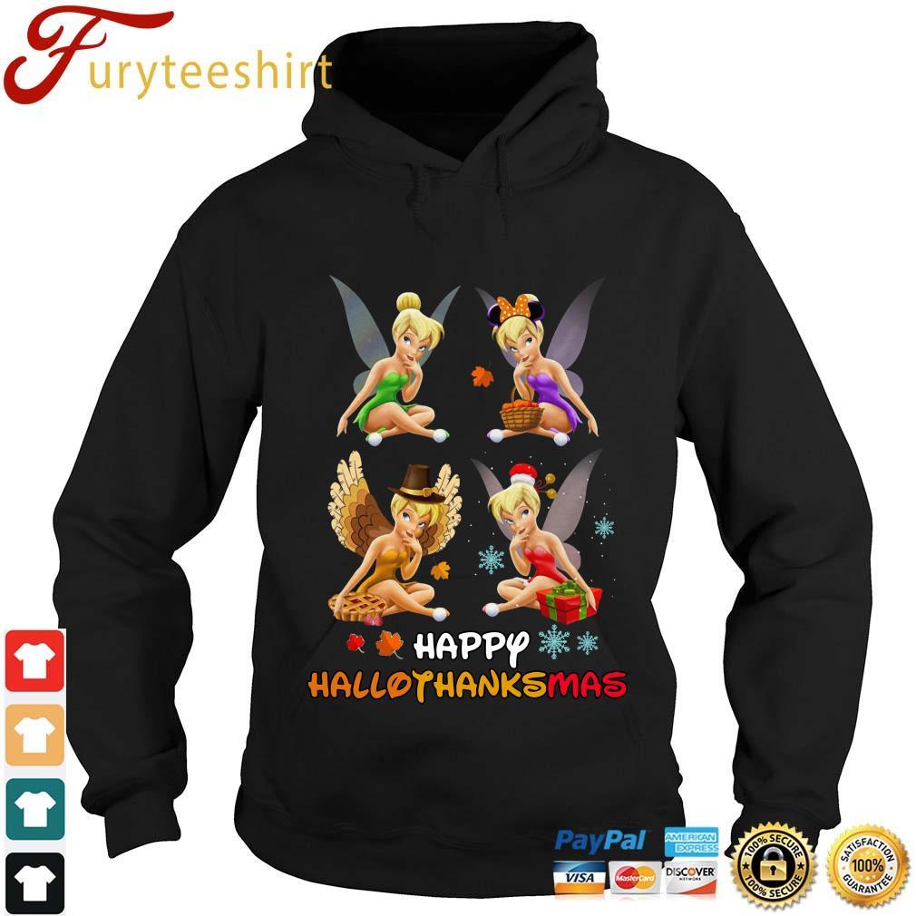 Tinkerbell Happy Hallothanksmas Halloween s Hoodie den
