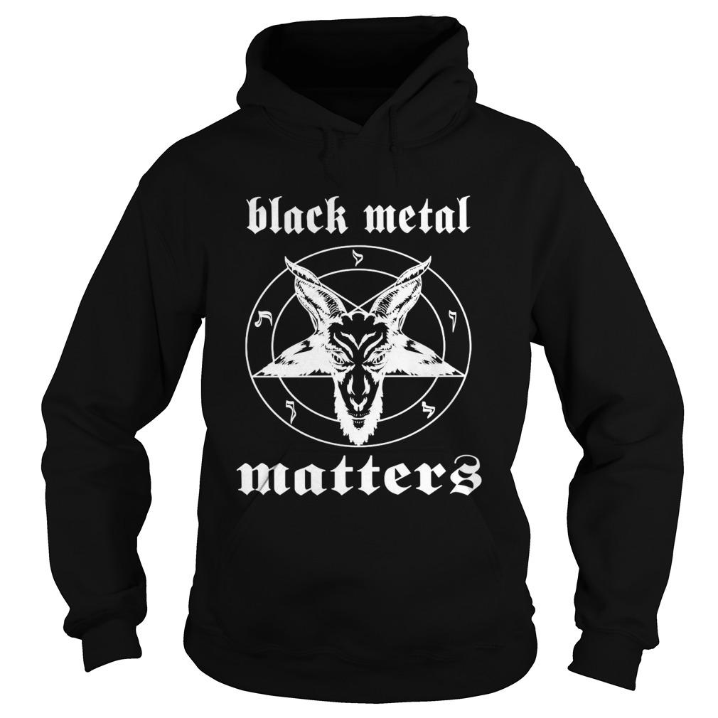 Goat Black Metal Matters  Hoodie