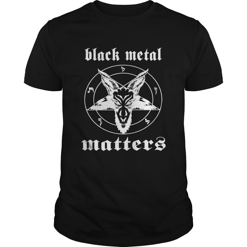 Goat Black Metal Matters  Unisex