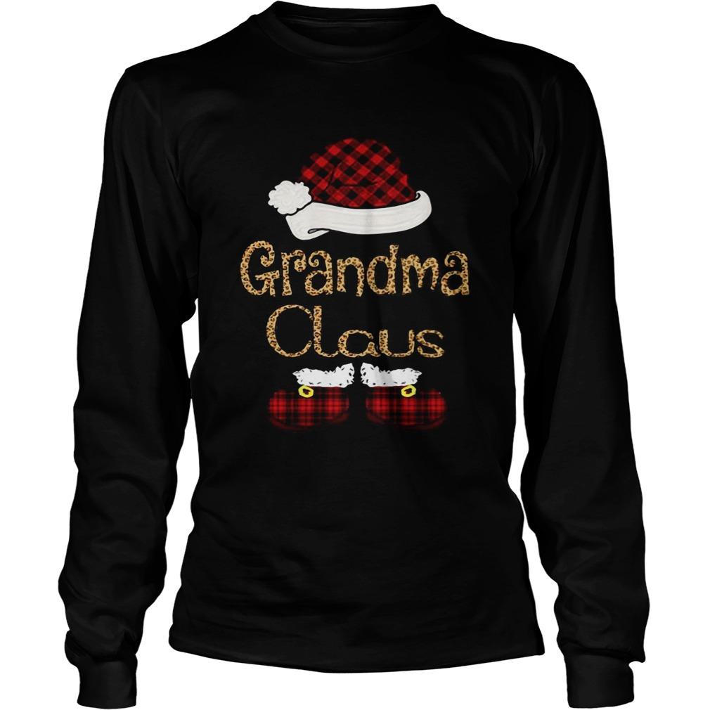 Grandma Claus Christmas  Long Sleeve