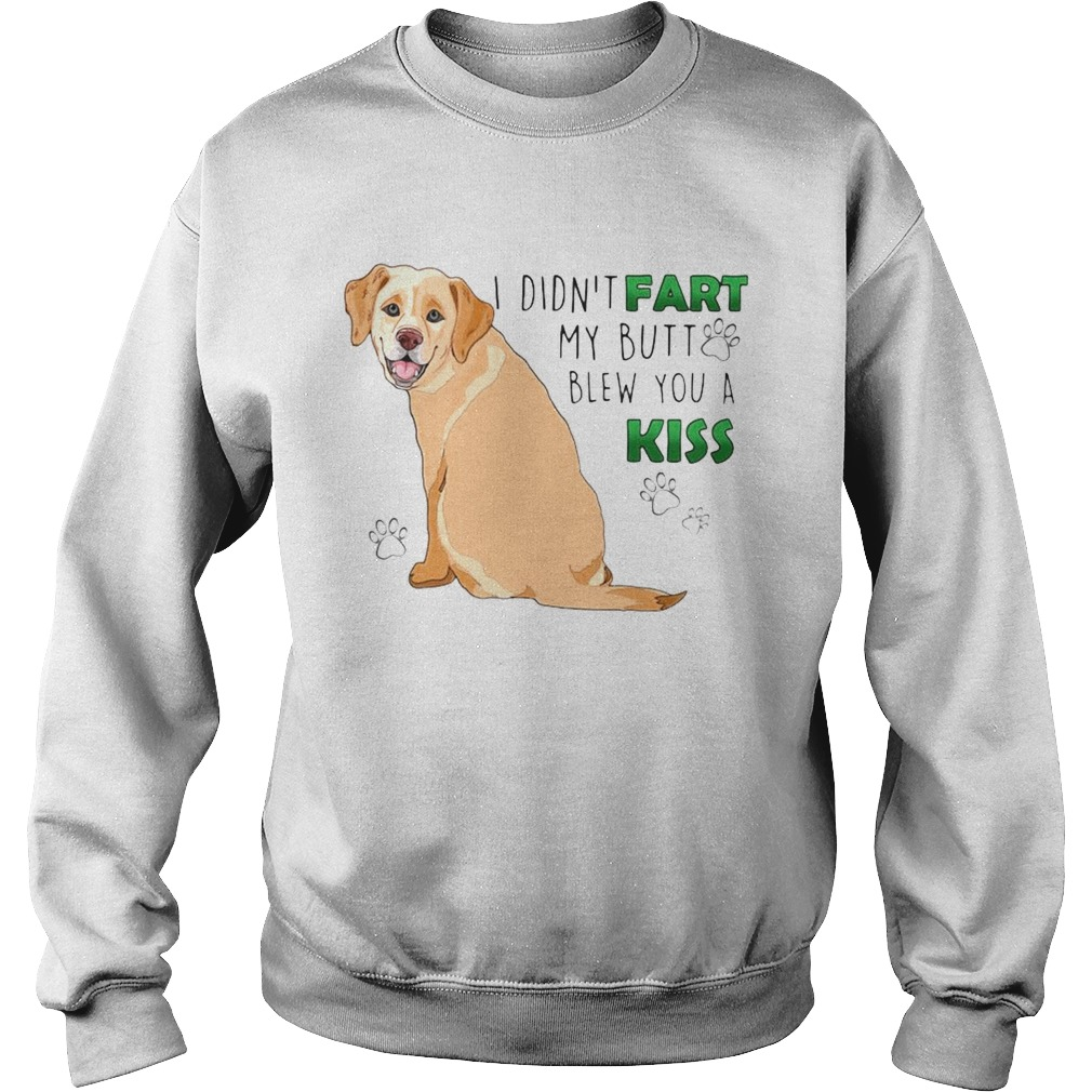 I Didnt Fart My Butt Blew You A Kiss  Sweatshirt