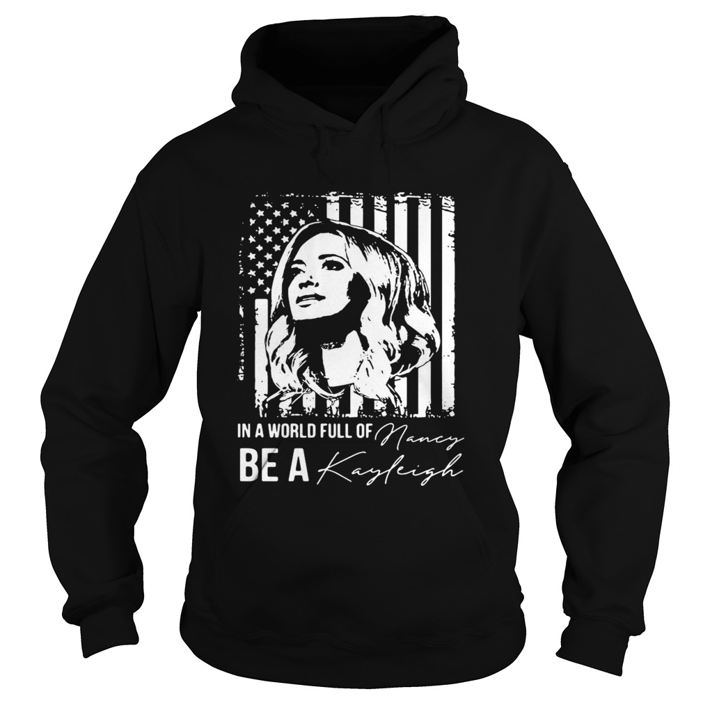 In A World Full Of Be A Navy Kayleigh Signature  Hoodie