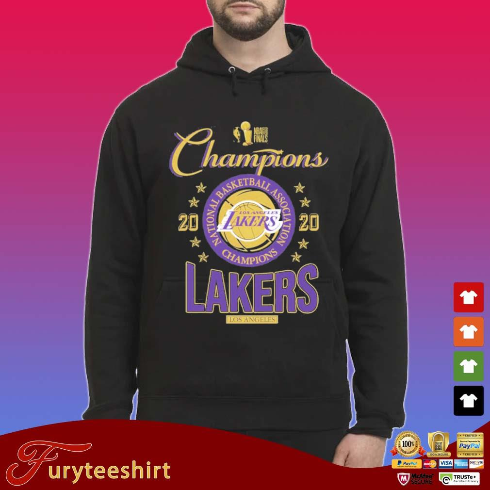 Los Angeles Lakers 2020 NBA Champions Shirt Hoodie den