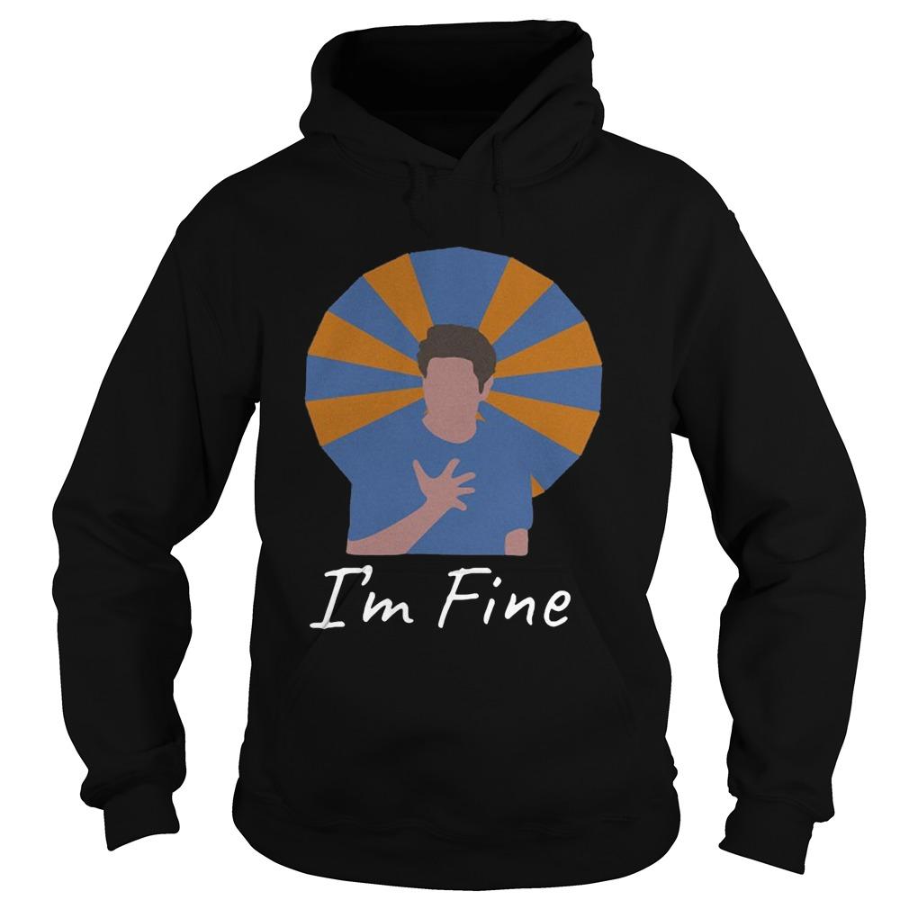 Ross Geller Im Fine  Hoodie