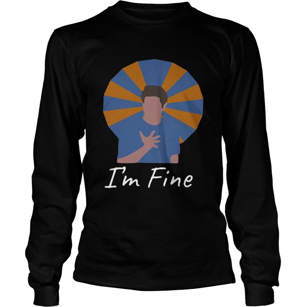 Ross Geller Im Fine  Long Sleeve