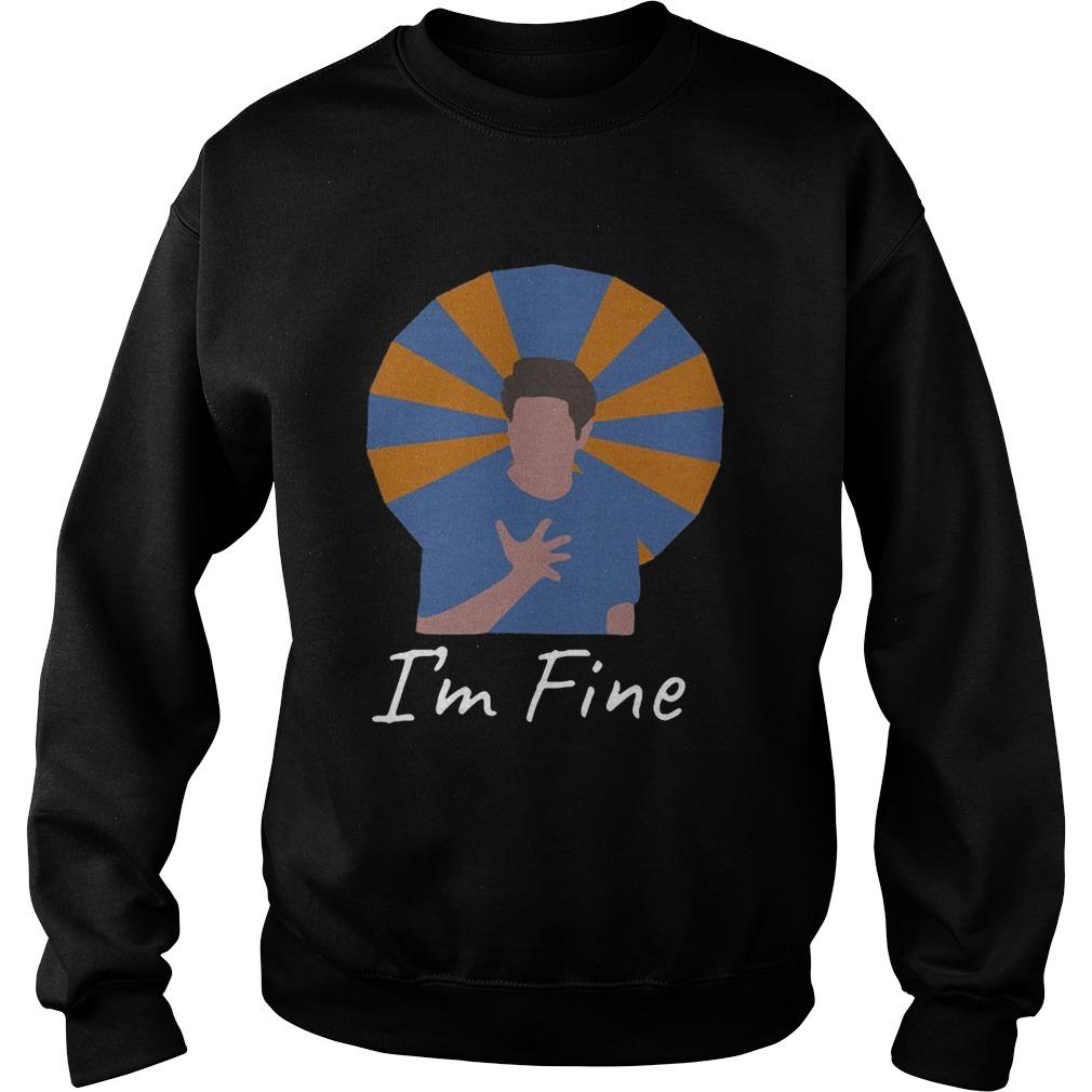 Ross Geller Im Fine  Sweatshirt