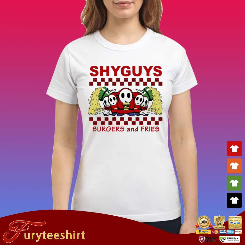 Shy Guys Burgers and Fries s Ladies trang