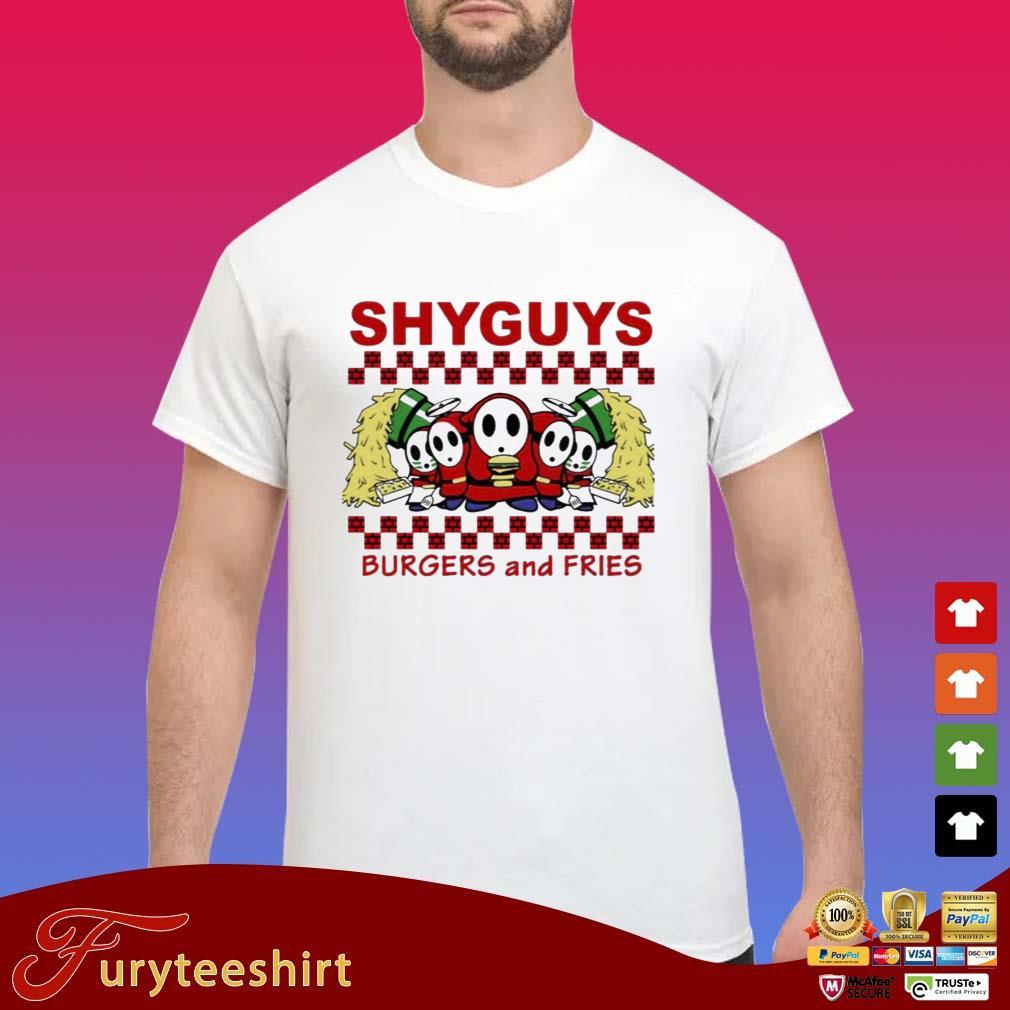 Shy Guys Burgers and Fries shirt
