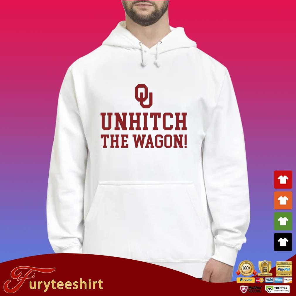 Unhitch the wagon s Hoodie trắng