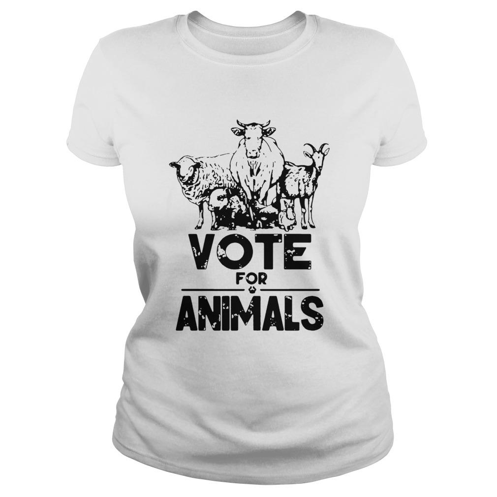 Vote For Animals 2020 President  Classic Ladies